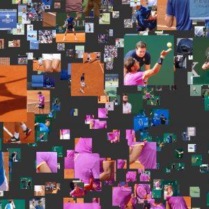 Tennis Mosaic Animations
